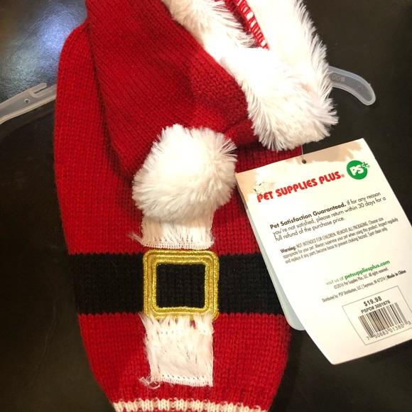 Accessories - Santa dog costume